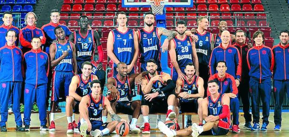 Plantilla del Baskonia para la temporada 2017-18