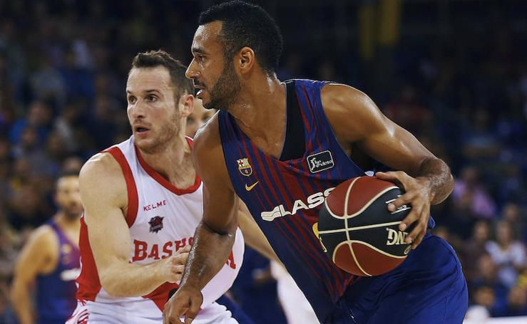 Barcelona - Baskonia. Partido inaugural de la Liga ACB
