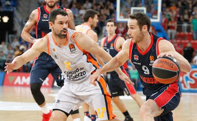 Baskonia - Valencia Basket en directo: Euroliga 2017-18, online