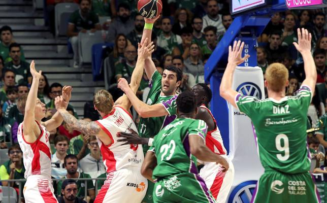 El Baskonia sale indemne del caos