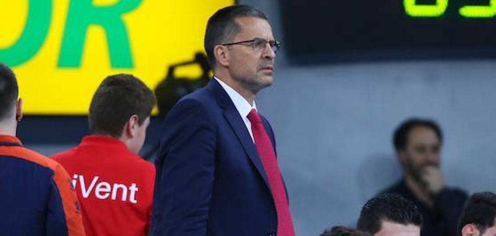 Pedro Martínez: «Hemos estado bien en ataque y en defensa»