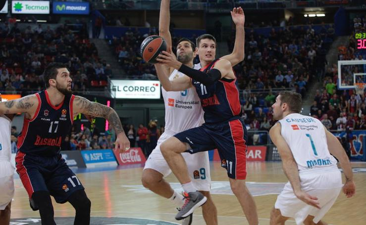 Fotos del Baskonia - Real Madrid de Euroliga 2017-18