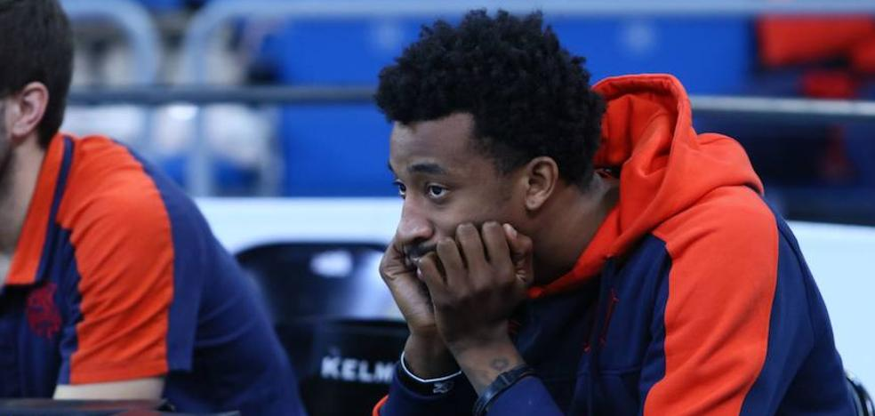 Jordan McRae será baja en Burgos debido a una contusión en el hombro