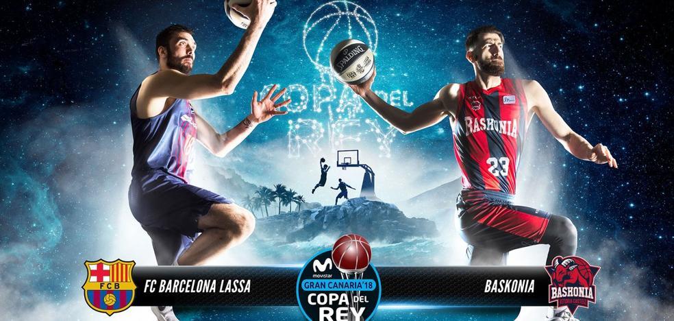 El Baskonia abrirá la Copa del Rey ante el Barcelona