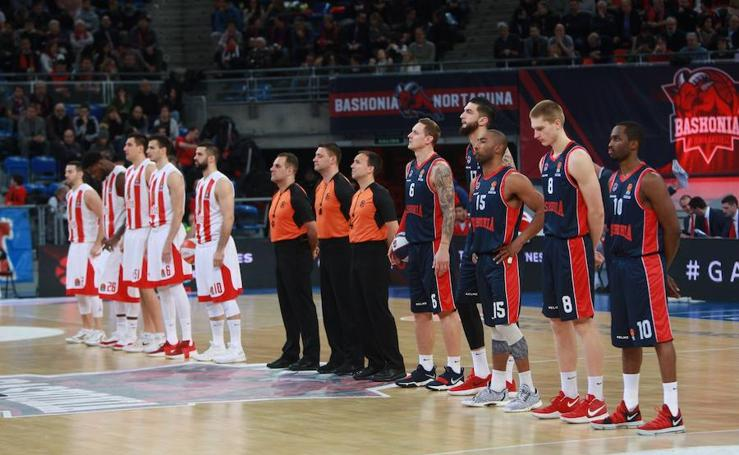 Fotos del Baskonia - Estrella Roja