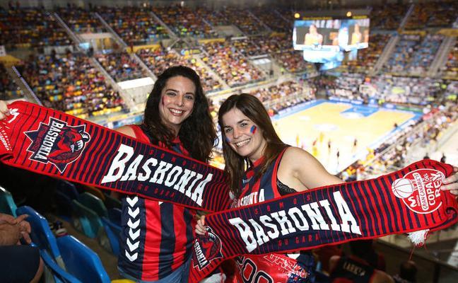 La afición, el sexto jugador del Baskonia en la Copa