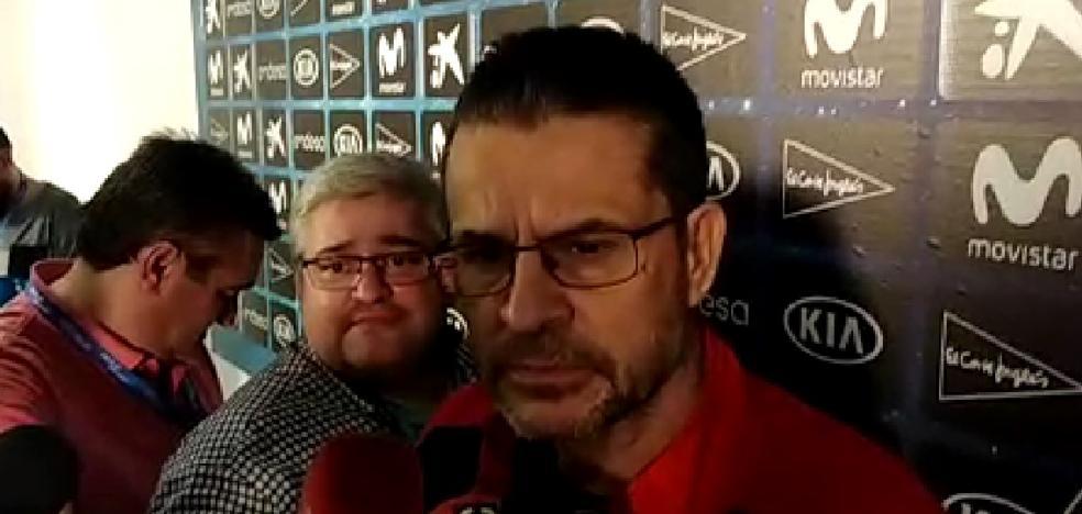 Pedro Martínez: «Hay una gran igualdad con el Barcelona y no somos favoritos»