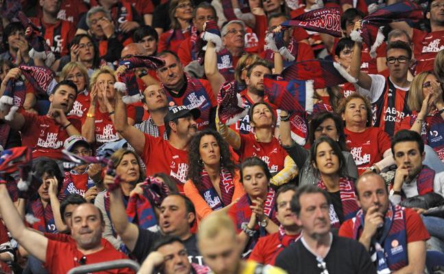 El Buesa Arena es el pabellón de la ACB con mayor afluencia de aficionados