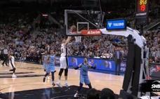 Bertans completa uno de los alley oop más raros del año en la NBA