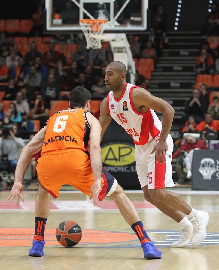 El Valencia Basket - Baskonia de Eruoliga, en imágenes