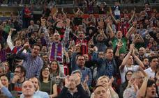 13.827 espectadores disfrutan del partido en el Buesa Arena