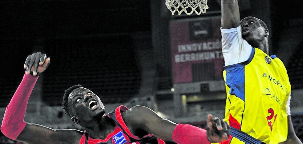 Diop reconoce que «siempre es un plus que el entrenador hable bien de ti»
