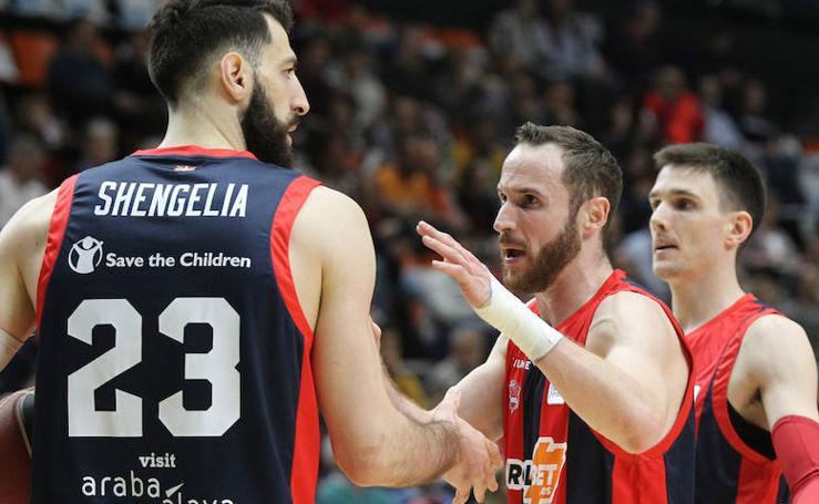 Las fotos del Valencia Basket - Kirolbet Baskonia