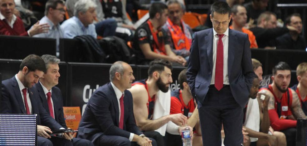 Martínez: «Nos han ganado por los tiros libres y los rebotes. Cinco contra cinco no eran superiores»