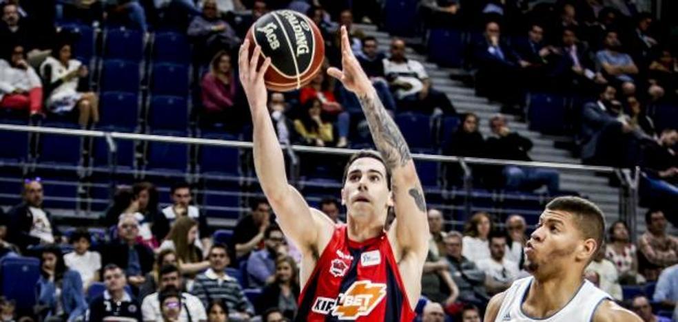 Luca Vildoza, cuarto en la votación para elegir al Mejor Jugador Joven de la Euroliga