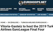 La Final Four de Vitoria copa la prensa especializada