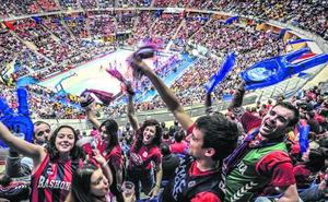 La Euroliga premia la devoción de Vitoria por el baloncesto