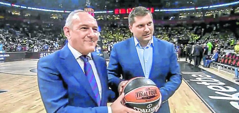 Vitoria ya es la capital del baloncesto europeo
