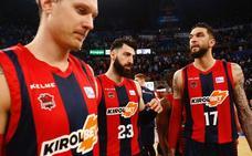 El Baskonia inicia el 'play off' el domingo a las 18.30 horas