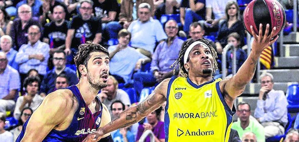 El Barcelona no da opción al Andorra y será el rival del Baskonia en semifinales