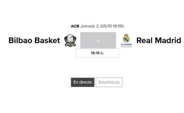 Bilbao basket real madrid horario y tv bilbao basket for Horario oficina correos bilbao