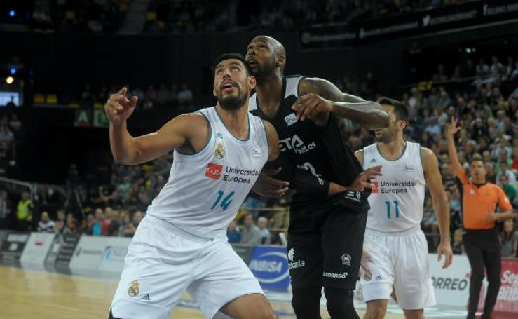 Las mejores imáganes del RETAbet Bilbao Basket - Real Madrid de la Liga Endesa 2017