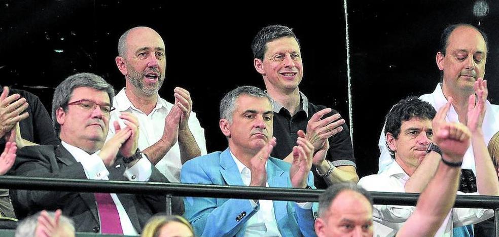 Rementeria insiste en que no habrá dinero público para el Bilbao Basket
