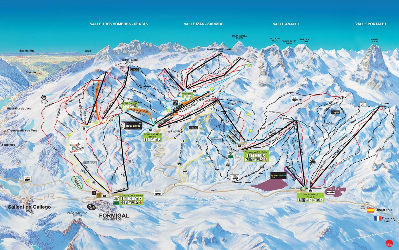 Formigal Estaciones De Esquí De Pirineo Aragonés Www Elcorreo Com
