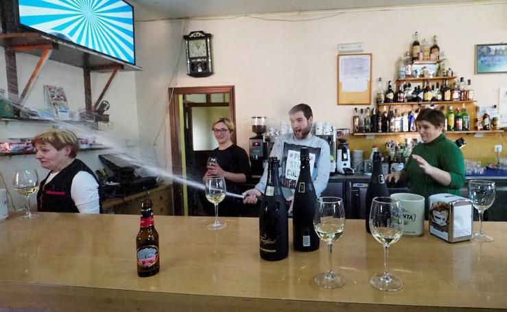 El bar Cascudo de Lugo reparte un buen pellizco de El Gordo