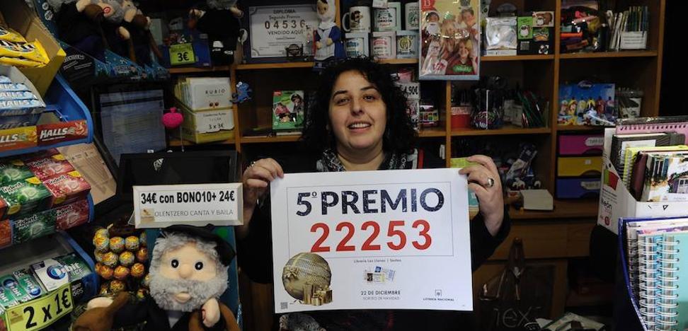 La librería de la suerte está en Sestao