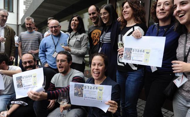 La administración de Artea reparte 31,5 millones del segundo premio -51244-, la mayoría en la consultora 4Set de Las Arenas