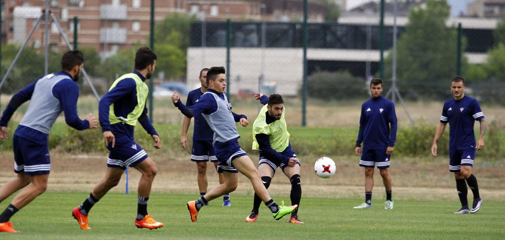 Igor Martínez se prueba con el grupo y hace parte del entrenamiento