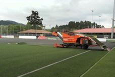 El Mirandés deberá jugar cuatro encuentros de Segunda División B en césped artificial