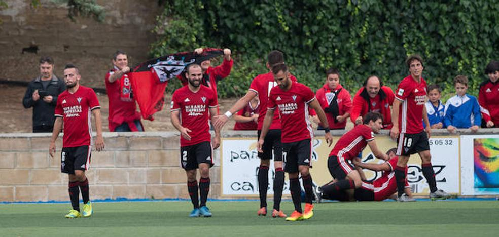 El Mirandés iguala los registros de la histórica temporada del ascenso a Segunda