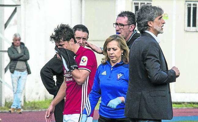 Alfaro: «Hoy es un día para que otros jugadores se muestren en Anduva»