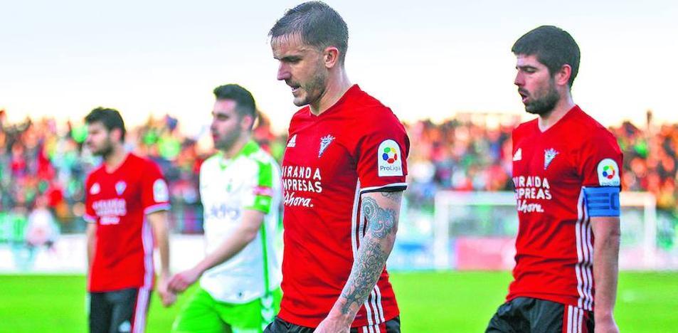 El Mirandés es el peor equipo de 2018 al ser el único sin puntuar en los tres partidos
