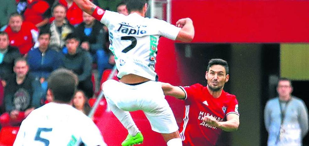 Alfaro: «Nadie va sobrado en Segunda B; estábamos fantásticamente acostumbrados»