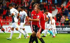Cervero lleva marcados casi tantos goles como toda la plantilla del Burgos en las 28 jornadas