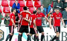 El Mirandés y 8 equipos de otros grupos son ya de 'play off' dos jornadas antes del final
