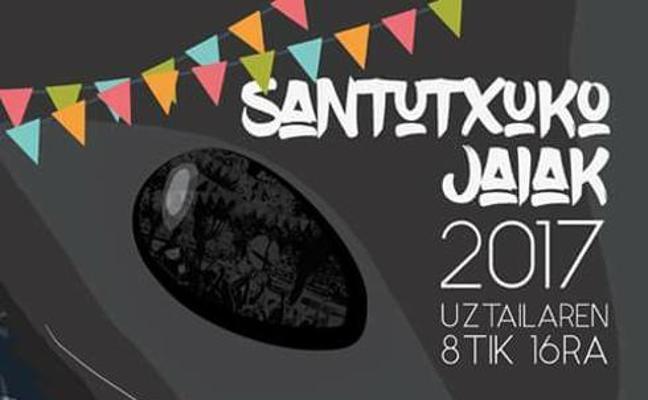 Programa de fiestas de Santutxu: Santutxuko jaiak 2017