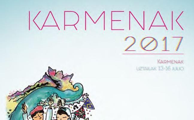 Programa de las fiestas de El Carmen Sopela 2017