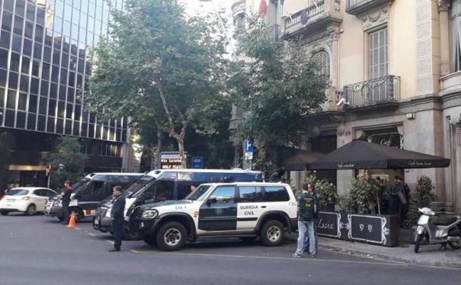 Golpe de la Guardia Civil y los Mossos al blanqueo de la Camorra