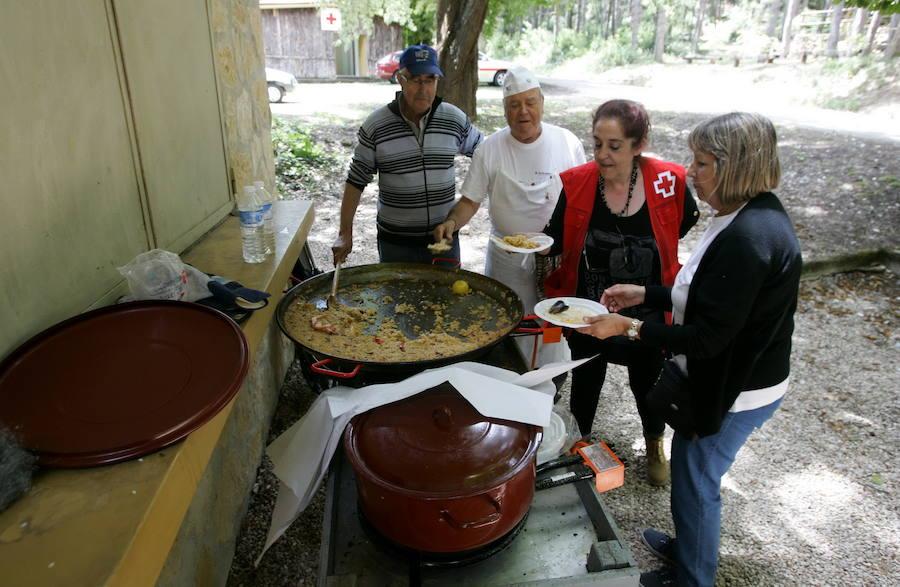 Paella con Cruz Roja en San Juan del Monte