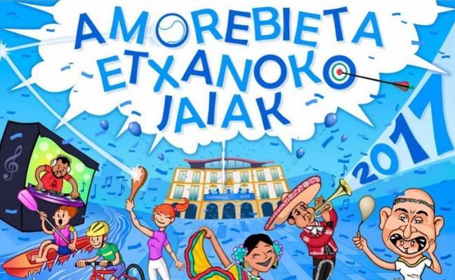 Programa de fiestas de Amorebieta-Etxano 2017