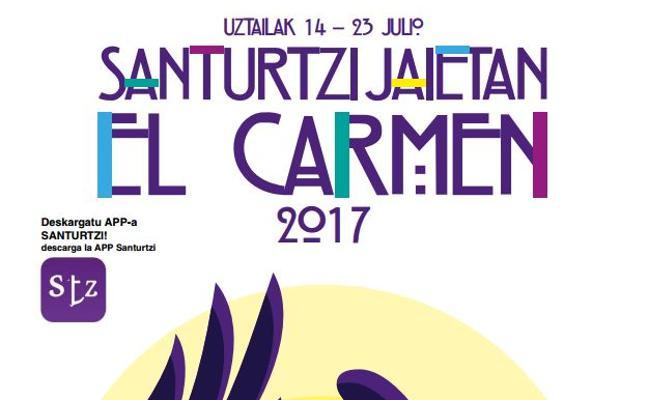 Programa de fiestas de El Carmen Santurtzi