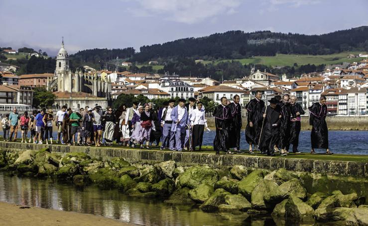 400 años de los monjes de Garraitz