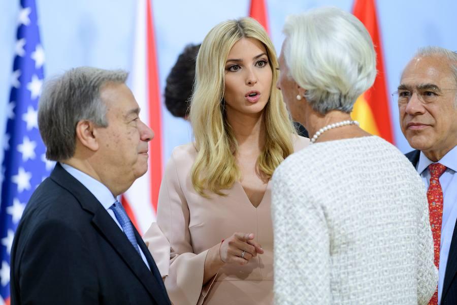 Las imágenes de Ivanka Trump en el G20