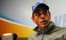 Capriles reclama la «libertad plena» del líder opositor
