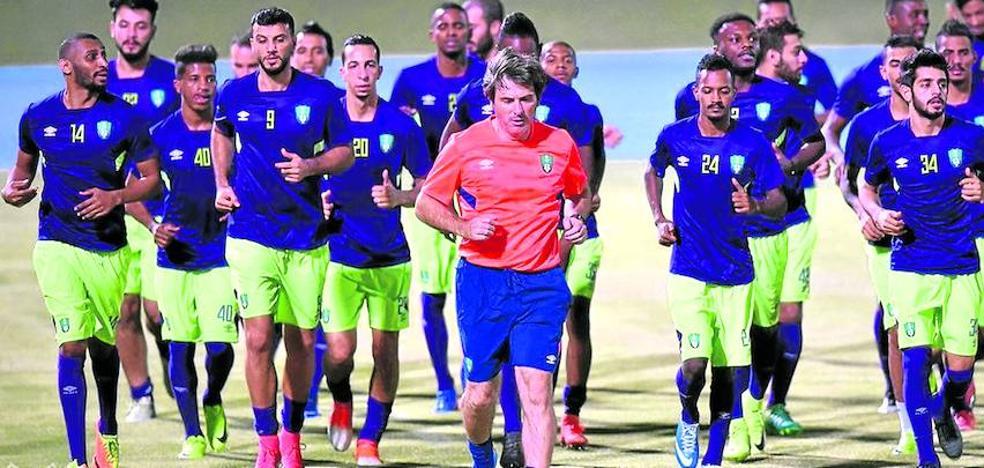 Formación de élite en el fútbol árabe