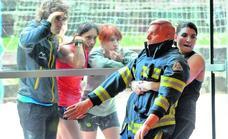 Así serán las pruebas físicas para elegir a los bomberos de Álava